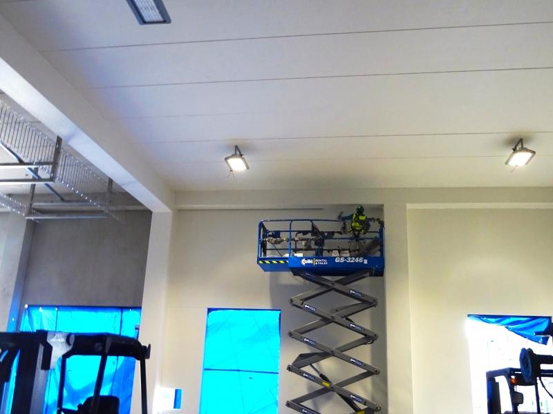 Coaten van wanden en plafonds bij Friesland Campina ...